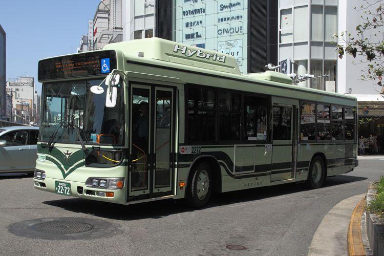 京都市交通局 京都200か2272 日野BJG-HU8JMFP
