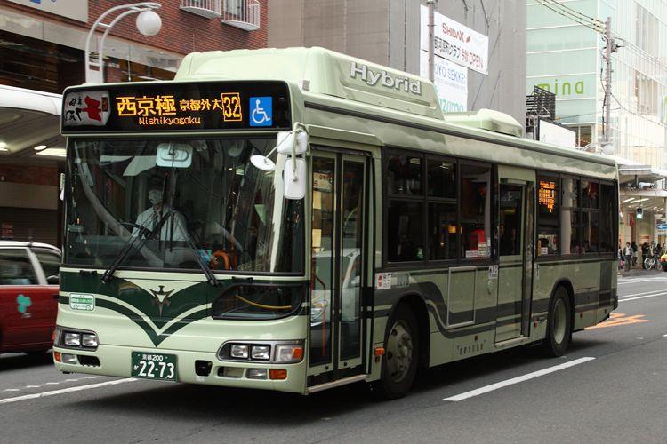 京都市交通局 京都200か2273 日野BJG-HU8JMFP
