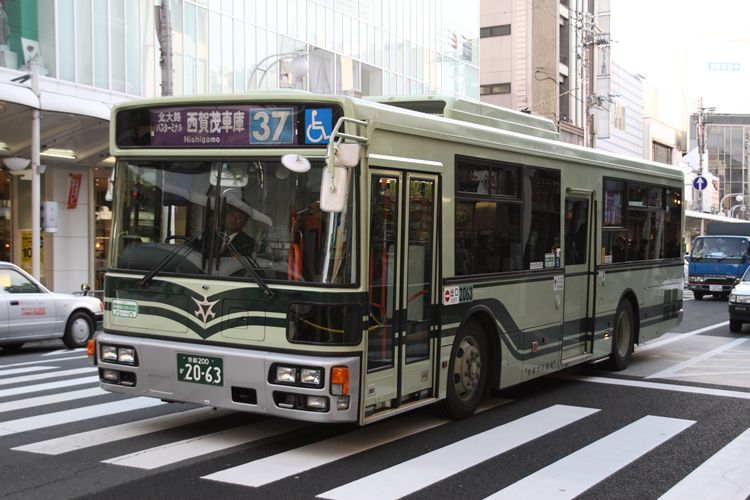 京都市交通局 京都200か2063 日デPDG-RA273KAN