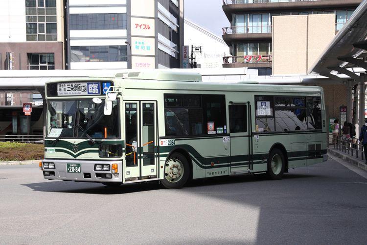 京都市交通局 京都200か2084 日デPDG-RA273KAN
