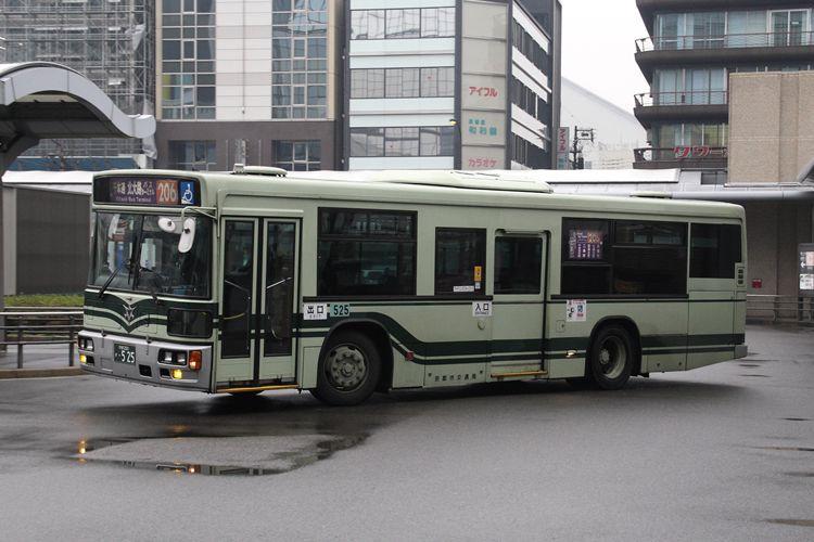 京都市交通局 京都200か・525 日デKL-UA272KAM