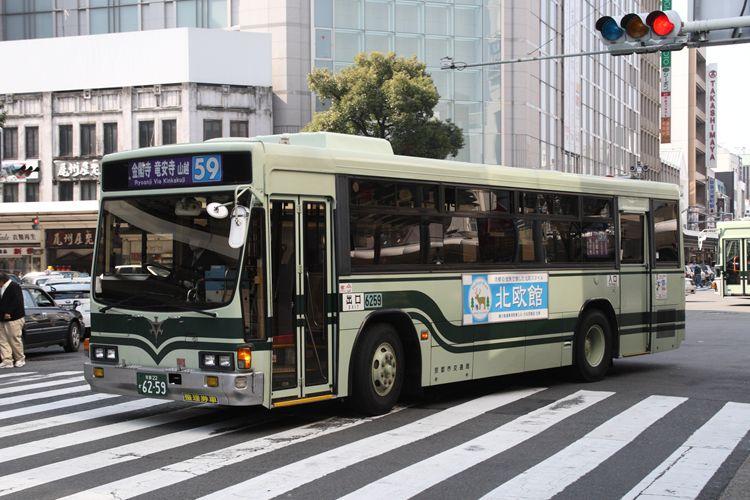 京都市交通局 京都200か6259 いすゞKC-LV280L