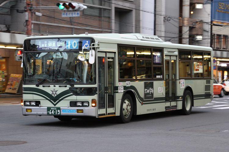 京都市交通局 京都200か6419 三菱KC-MP747M
