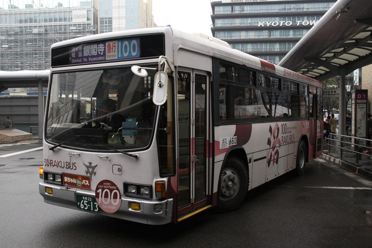 京都市交通局 京都200か6513 いすゞNE-LV288L
