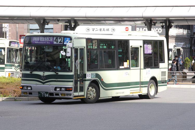 京都市交通局 京都200か・704 三菱KK-MJ27HL