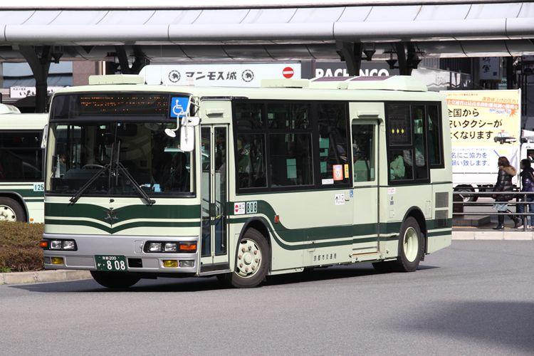 京都市交通局 京都200か・808 三菱KK-MJ27HL
