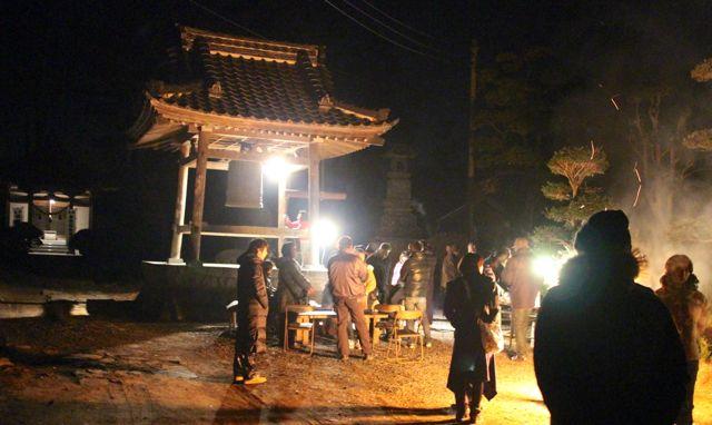 林観音寺の除夜の鐘