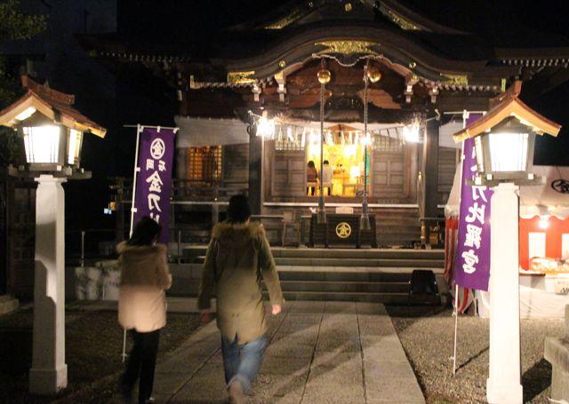 金刀比羅神社初詣