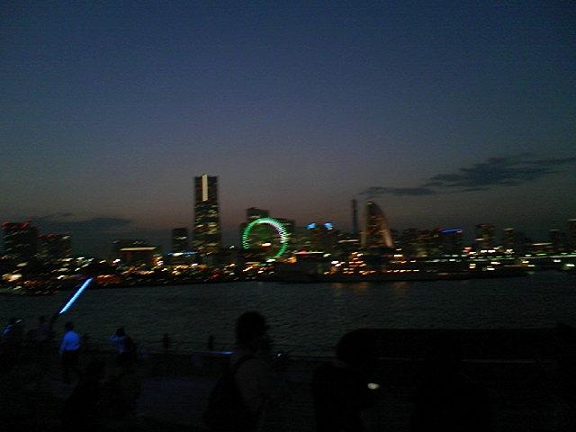 大桟橋からの夜景