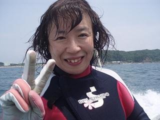 20070708白浜色津ボート直美