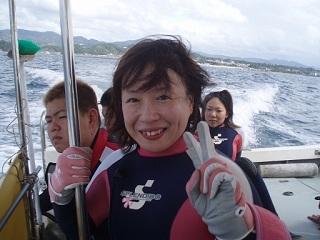 20070915南部ボート直美