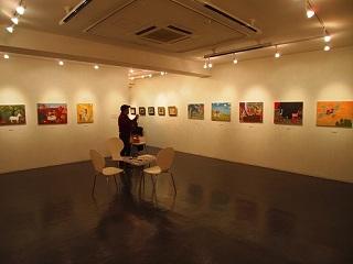 20130211原画展原画スペース