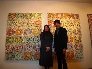 20130212原画展伊藤さんと