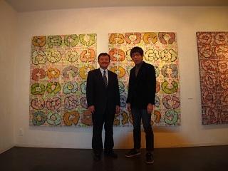 20130213原画展中田さんと