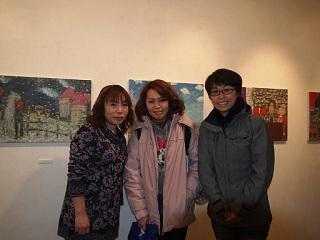 20130214原画展台湾女性2名