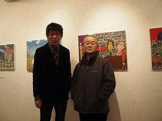 20130216原画展大島さん