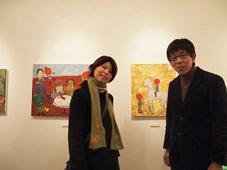 20130217原画展竹下さん