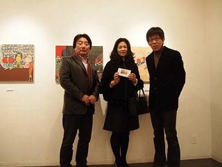 20130217原画展片淵さん