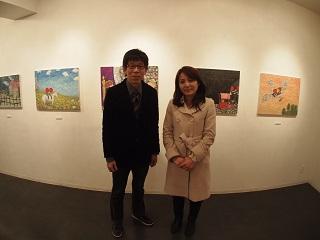 20130211原画展素田さんと