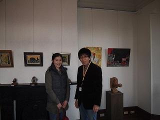 20130313ライン展示室吉田志保