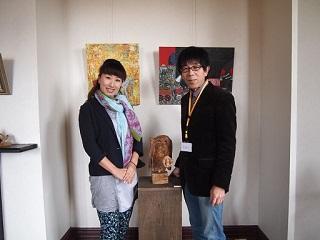 20130313ライン展示室吉田奈穂