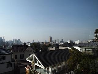 20130317ライン朝の神戸市街