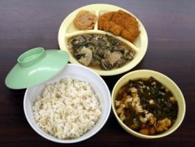 11月30日の福島刑務所の夕食