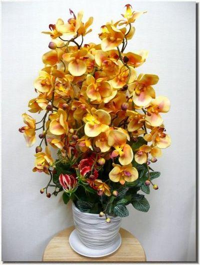 アートフラワー 胡蝶蘭のアレンジ