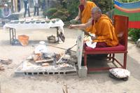 チベット護摩