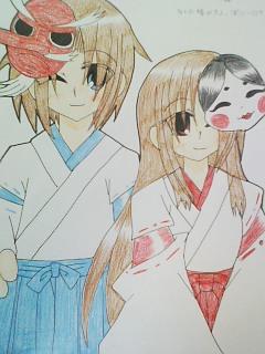 妹絵・椿&燕