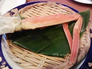 蟹・・・の脚