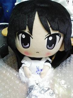 けいおん!ぬいぐるみ(メイド服澪)