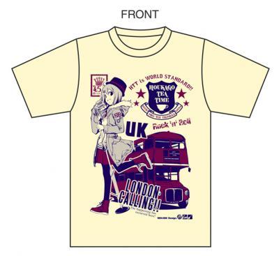 けいおんTシャツナチュラルイメージ1