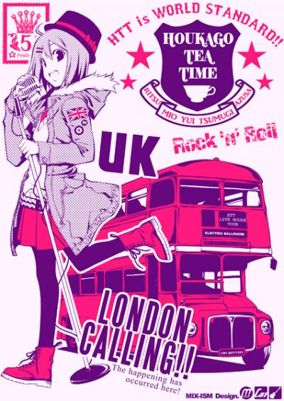 LONDONTシャツライトピンク