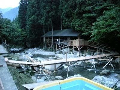 川床の様子 20100622