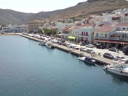ギリシャKea島にて