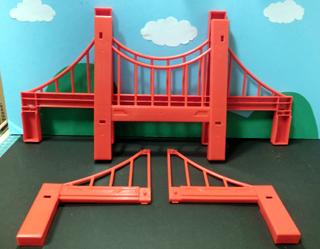 大鉄橋用部品 吊り橋部品