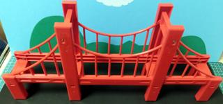 1車線用にした大鉄橋