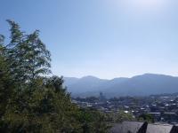 AM9:30の朝熊山