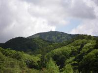 新緑の朝熊山