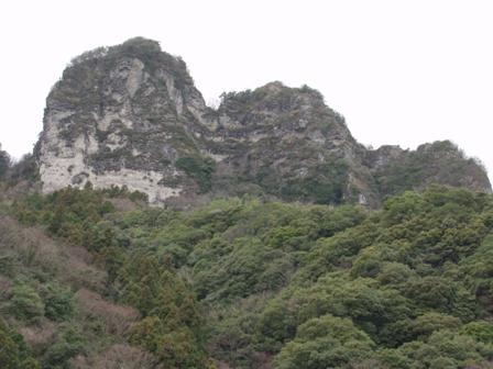 大仏岩と高城P1011439