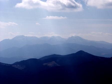 山上駅から九重連山P1011450