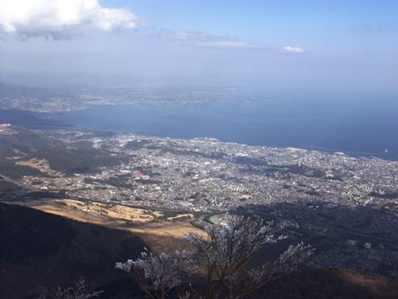 山頂展望台からの別府市街P1011512