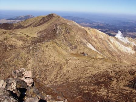 久住山山頂から星生P1011602