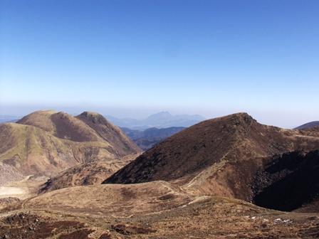 久住山山頂から天狗P1011599
