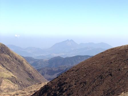 久住山山頂から由布岳P1011608