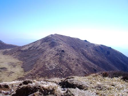 久住山下山途中から稲星CIMG0133