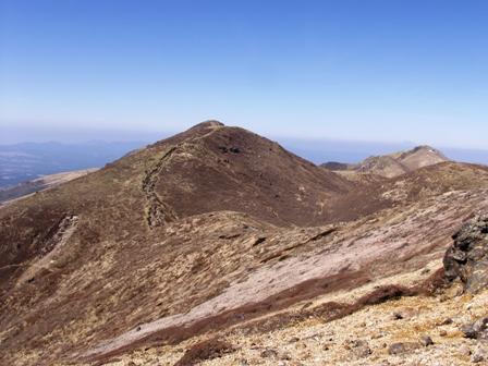 稲星山頂から久住山P1011642