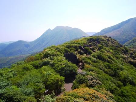 遠くに三俣山CIMG0008