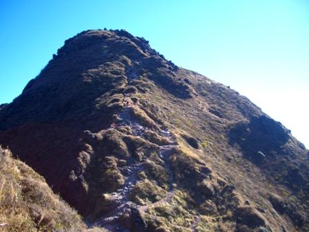 マタエから東峰へCIMG0130